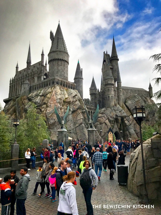 Hogwarts: The Wizarding World of Harry Potter at Universal Studios Hollywood. This is my favorite part of Universal, there is so much magic at this theme park.