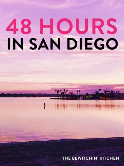 48 hours in San Diego with kids. Don't have long to visit this beautiful California city? Here's how to make the most of your two days (includes a trip to Legoland).