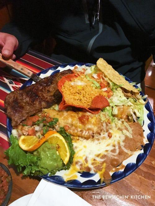 Casa Guadalajara in Old Town San Diego - SO MUCH FOOD!