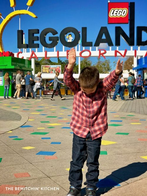 48 hours in San Diego - surprising our kid with Legoland California!