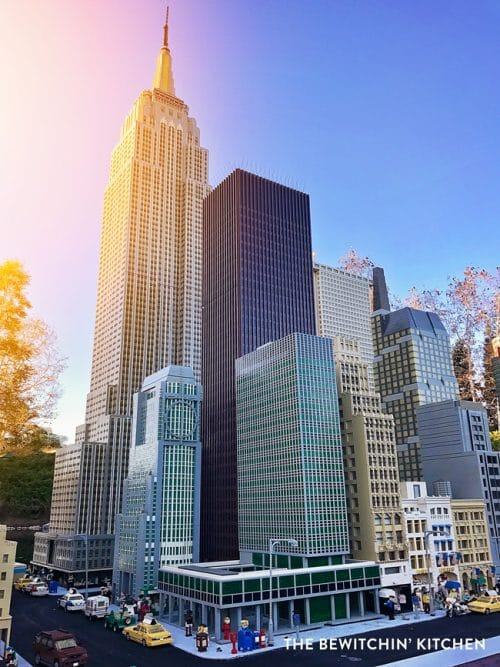 New York City in Miniland USA - Legoland California