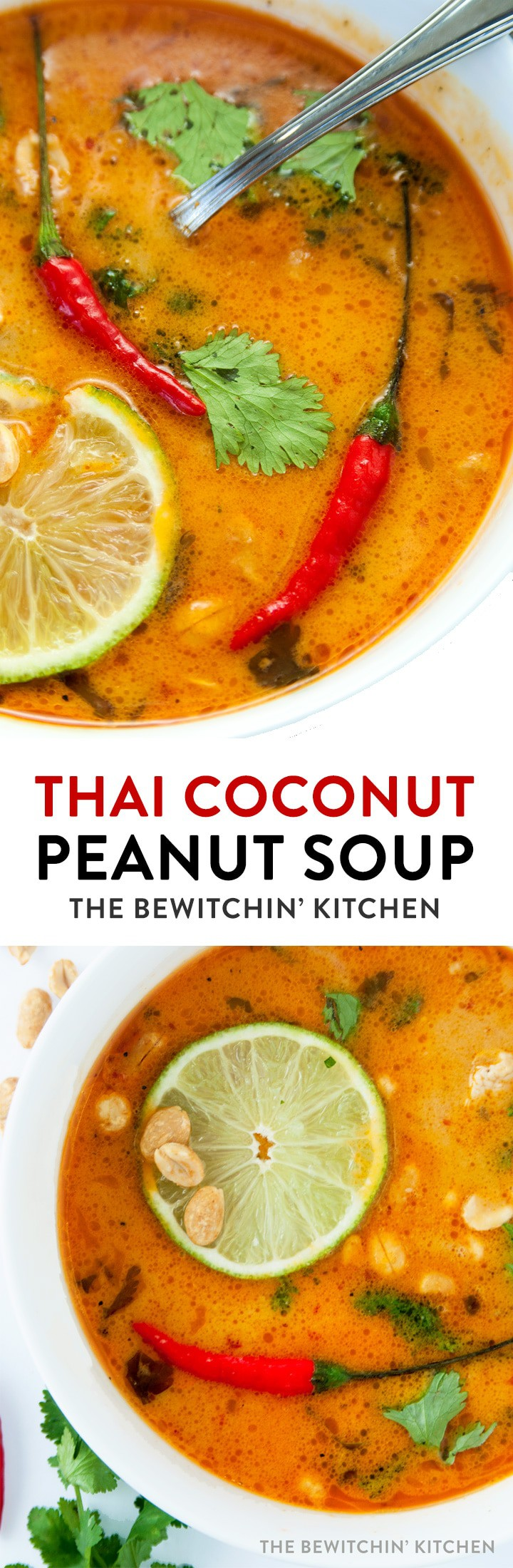 thai coconut peanut soup the bewitchin u0027 kitchen