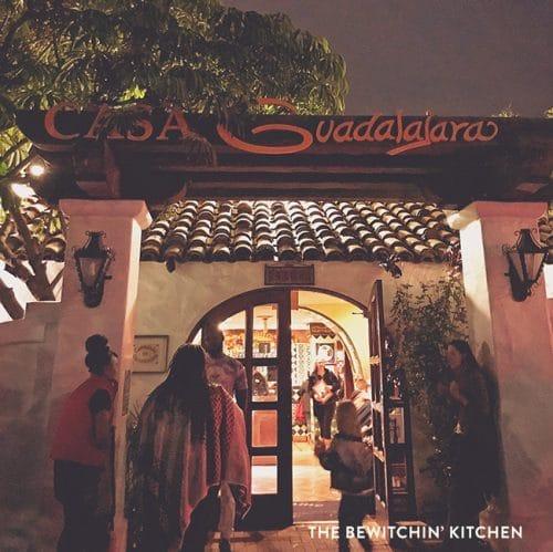 Casa Guadalajara in Old Town Mexico - San Diego.