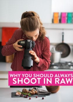 One of my favorite food blogging photography tips: shooting raw. Here are 5 reasons why you should be doing it!