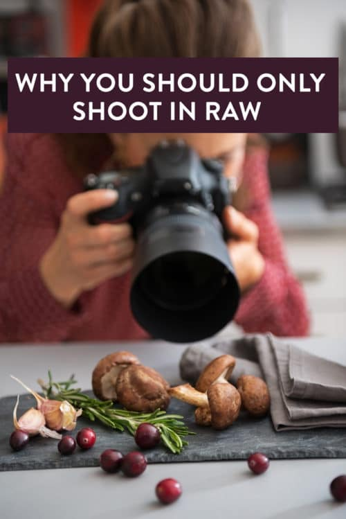 Bloggers do you shoot in raw? Here are 5 reasons why you should! This is my favorite blogging tip when it comes to food photography. It has saved a project more than once!