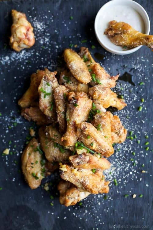 Crispy-Baked-Garlic-Parmesan-Chicken-Wings