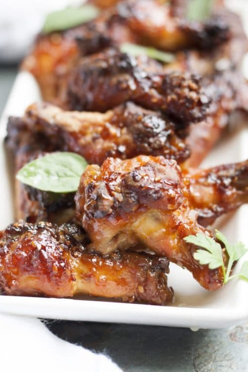 Honey-Teriyaki-Wings