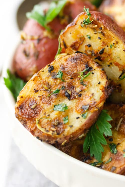 Lemon-Parmesan-Garlic-Roasted-Potato