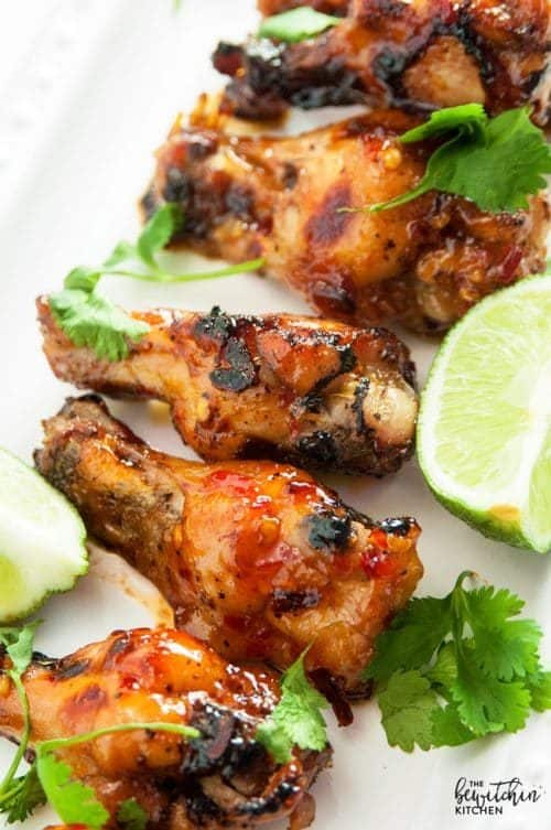 Thai Chili Hot Wings