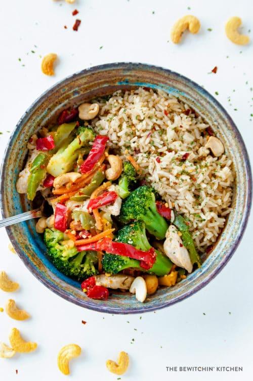 Healthy Chicken Stir Fry The Bewitchin Kitchen