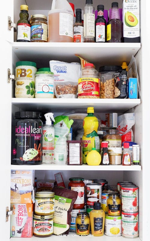 Healthy Pantry Staples for a healthy lifestyle