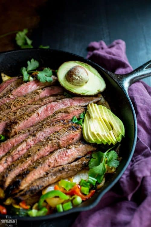 Whole30-Easy-Steak-Fajitas