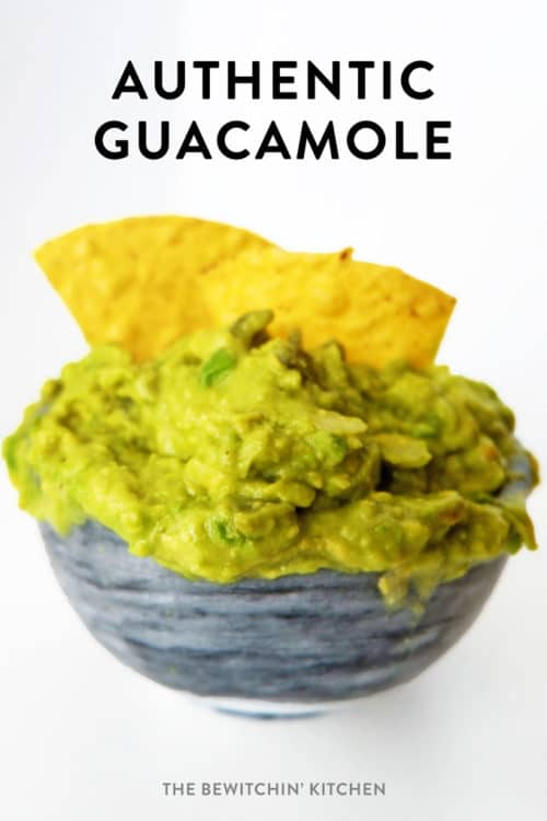 This authentic guacamole recipe was brought back from my recent Mexico travels. This clean eating, healthy snack recipe is whole30 and paleo plus its only 5 ingredients!