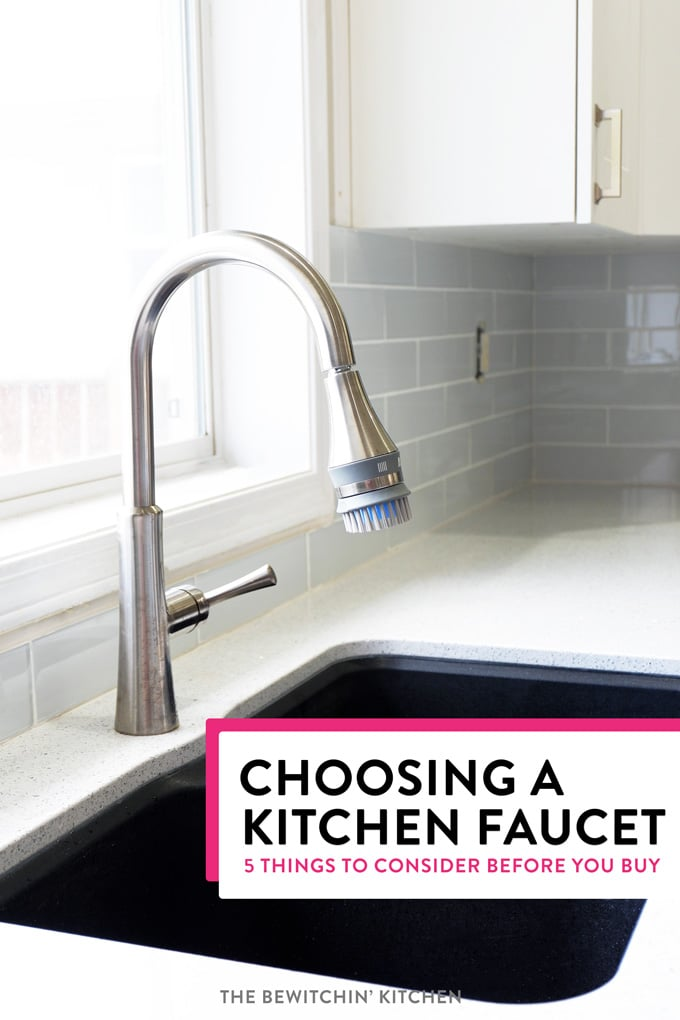 5 tips for choosing a kitchen faucet you need to know