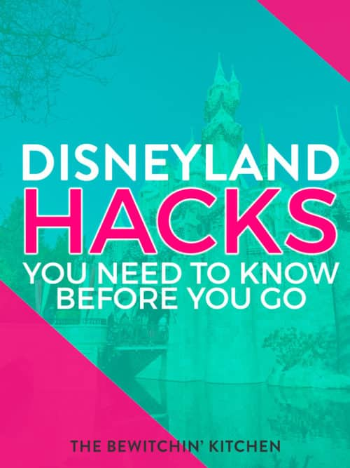 Disneyland hacks you need to know before you head to California. Save time and up the fun at the happiest place on earth with these Disneyland tips and tricks.