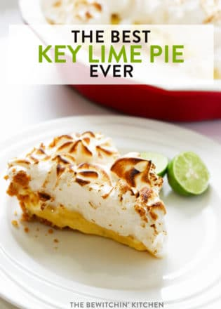 The best key lime pie recipe EVER. This Florida Key dessert recipe is one of my favorites. Whether you top it with meringue or whipped cream, you can't go wrong with the world's best key lime pie!