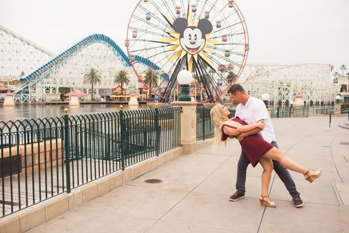 California Adventure Couples Session and Engagement Photos