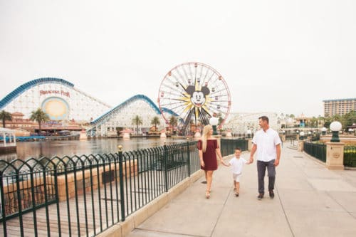 Disney's California Adventure Family Photos.