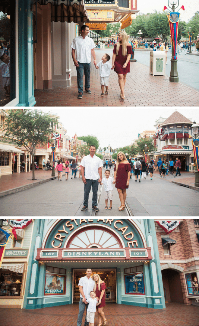 Disneyland Family Photographer - Sarina Love Photography. Anaheim Photographer.