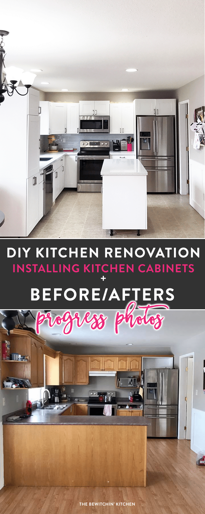 i survived my diy kitchen renovation before u0026 afters the