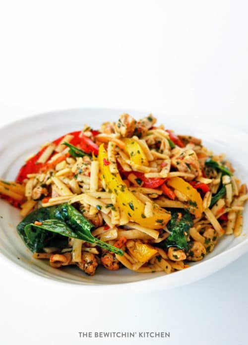 Spicy Asian Noodle Salad with Grilled Chicken | The ...