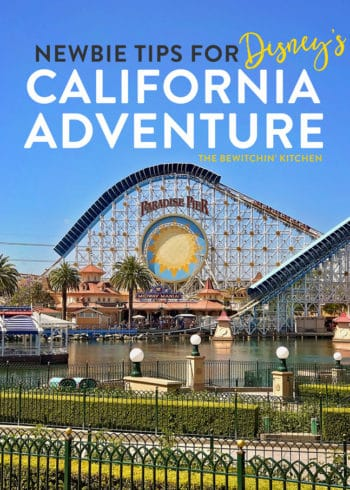 Disney's California Adventure Tips and Tricks for New Visitors. A quick beginners guide to a favorite Disneyland park.