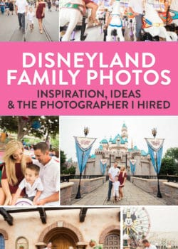 Why hiring a Disneyland photography made our family trip to Disney amazing. Best family photos ever!