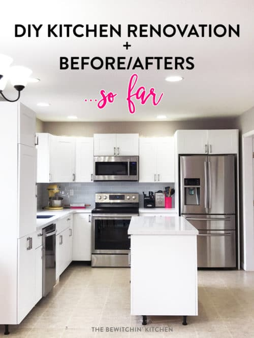 I Survived My Diy Kitchen Renovation Before Afters The