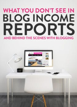What you don't see in bloggers income reports. Real behind the scenes with blogging. So is blogging hard? Short answer: yes.