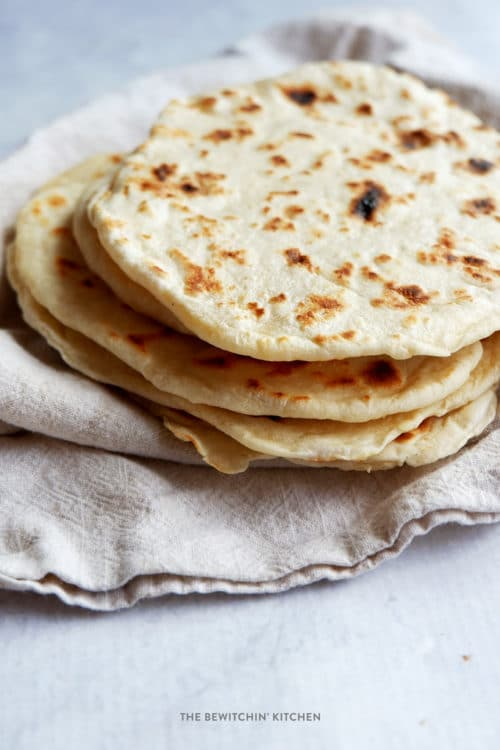 How To Make Flour Tortillas The Bewitchin Kitchen