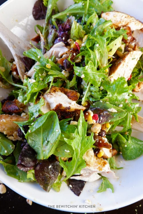 Grilled Chicken Santa Fe Salad