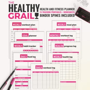 The Healthy Grail Health and Fitness Planner