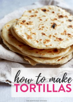 Homemade flour tortillas. Having a taco night and want to make homemade tortillas? Here's an easy recipe for taco Tuesday or fajita Friday!