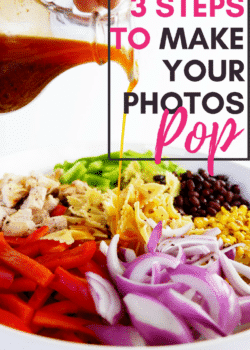 3 easy steps to make your photos pop. Bring life to your blog, social media, Etsy Shop with these easy tips! Photography and editing is key!