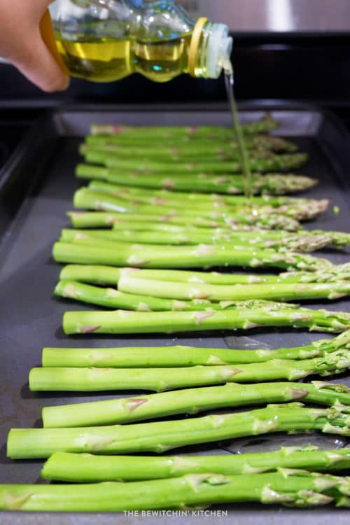 Roasted Asparagus - a healthy side dish