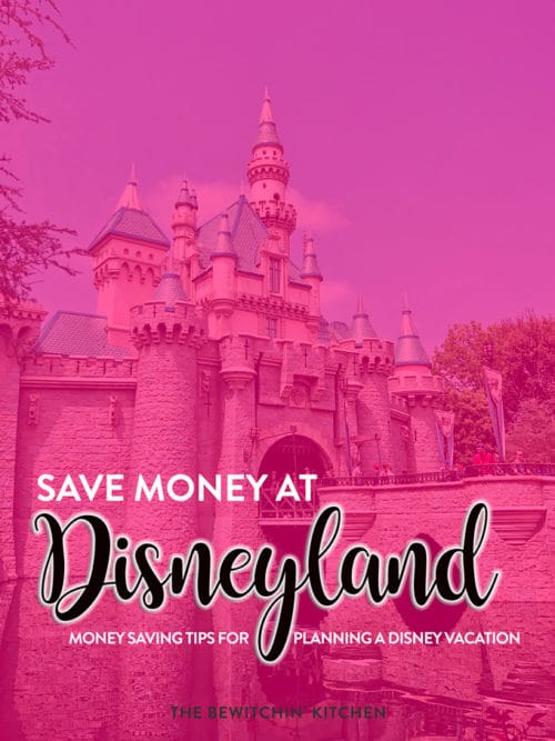 Planning a Disney vacation? Save money at Disneyland with these money saving tips from stroller rentals, hotels near Disneyland, and Disneyland park tickets.