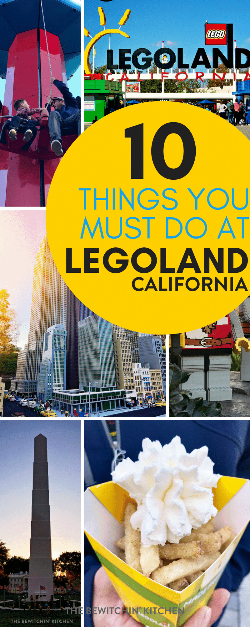 10 things you MUST DO when you visit Legoland in Carlsbad, California. No Southern California trip is complete without visiting this family theme park outside San Diego. Our family had so much fun here on vacation!