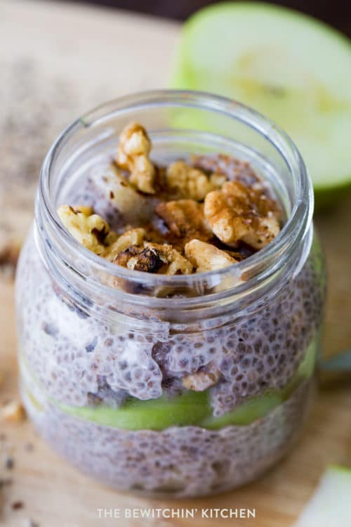 Apple Pie Chia Seed Dessert