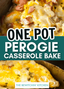 one pot perogie casserole bake