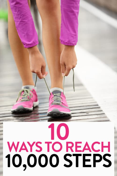 10 ways to get 10,000 steps! Get active and lose weight with these Fitbit hacks!