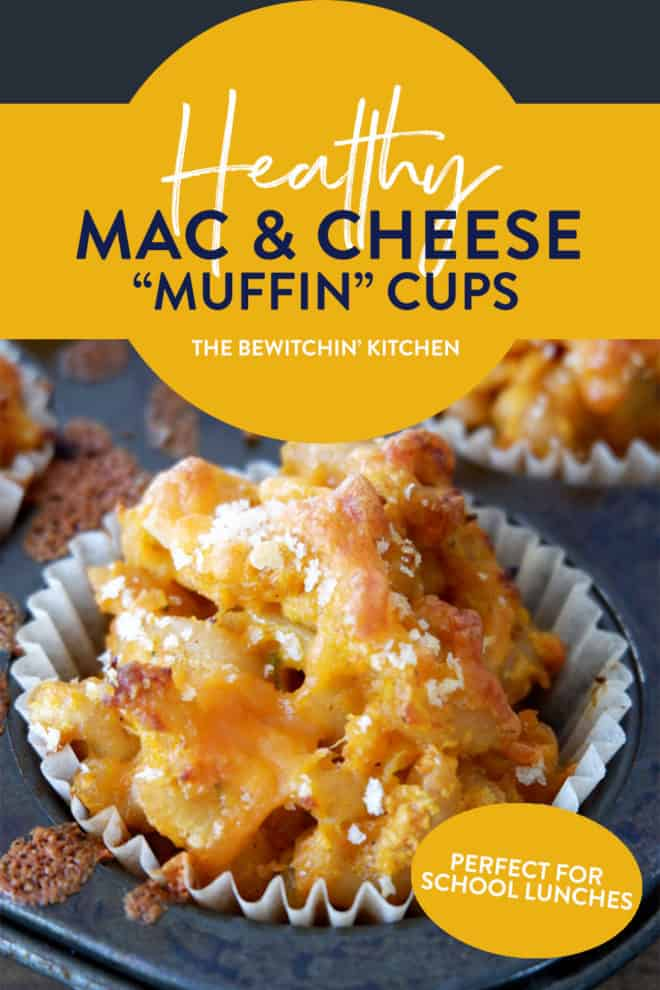 healthy mac and cheese muffin cups recipe