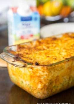 Vegetable Egg Casserole, an easy brunch recipe that fits most healthy lifestyles. Keto, and low carb recipe approved!