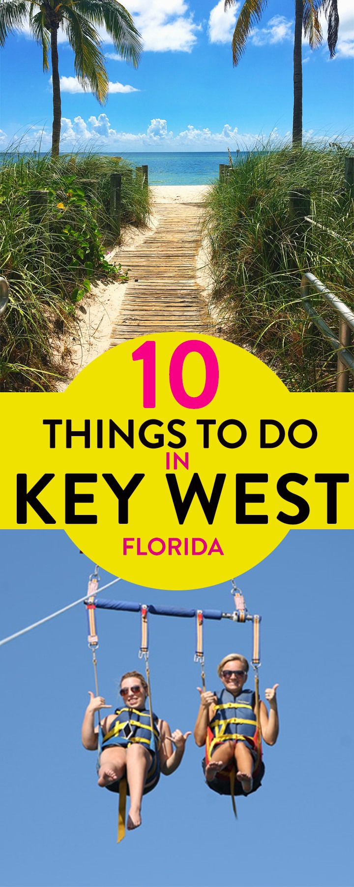 Looking for activities in Key West Florida? From jet skiing, parasailing, and beautiful Florida beaches here are 10 things to do in Key West for all ages! #KeyWest #FamilyTravel #FloridaTravel #thebewithinkitchen #thingstodoinkeywest