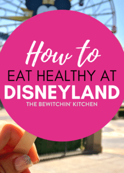 How to eat healthy at Disneyland. When you're on a Disney vacation but still maintaining a healthy diet, here are your options. Choices for keto, low carb, and clean eating! Just because you're on a Disney vacation in California doesn't mean you have to eat bad!