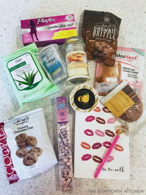 The PMS Package health subscription box