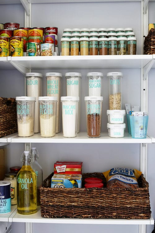 How to organize a kitchen pantry