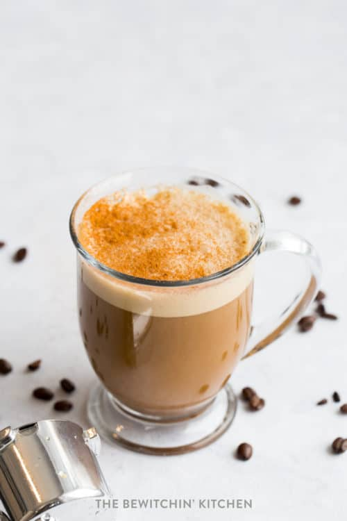 Ginger Cinnamon Latte