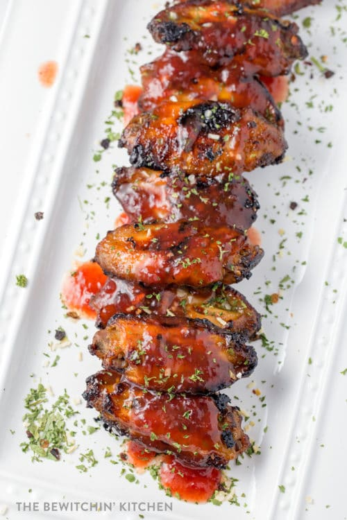 Spicy Cranberry Wings