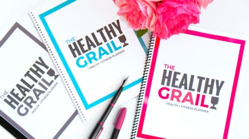 The Healthy Grail Healthy and Fitness planner