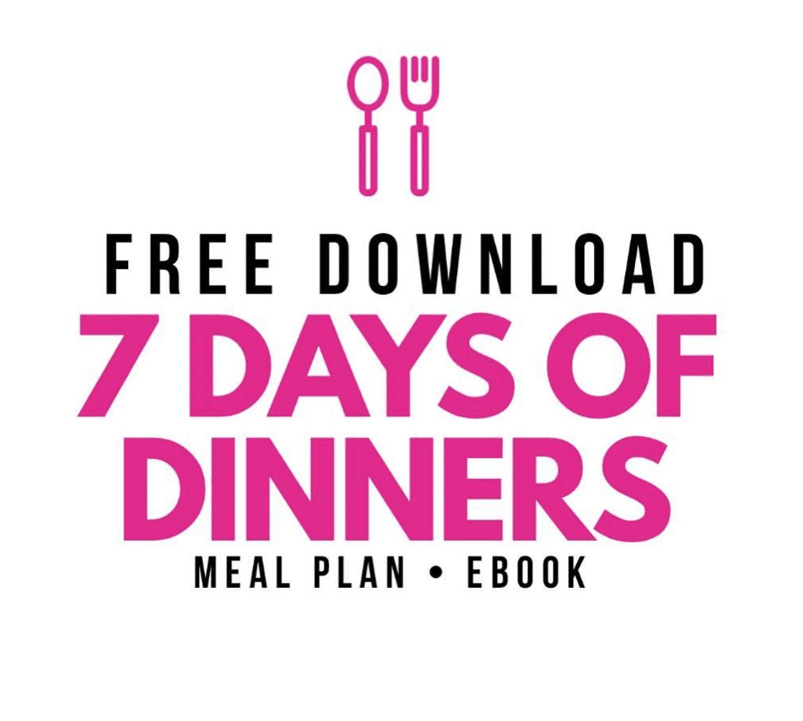 Dinner Plan Meal Plan